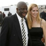 WTF?!!  JIMMIE WALKER WITH GIRLFRIEND ANN COULTER