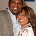 Mekhi Phifer and Fiancee