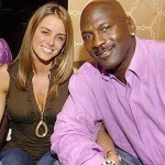 Michael Jordan with Yvette Prieto (who is allegedly his fiancee')