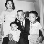 Thurgood Marshall and family