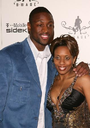 D. Wade and his Ex wife