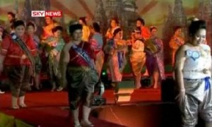Ms. Jumbo pageant in Thailand