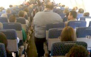 obese passenger