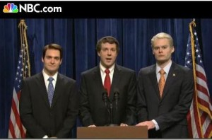 John Edwards, Mark Sanford, John Ensign replications by SNL
