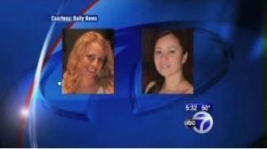 Cindy Mauro 33, and Alini Mito, 29
