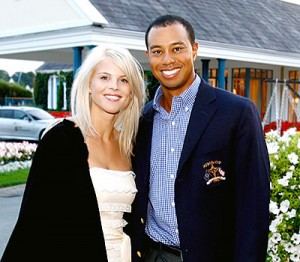 tiger woods and wife pre joke