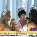 Anysha Panesar, 16, being crowned America's Perfect Teen.