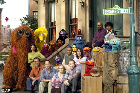 sesame street characters telly  Sesame Street and Other