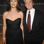 Catherine Zeta Jones and Michael Douglas, 25 years apart