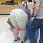 The person she is with is just wrong! Tell yo mama she needs a diaper boy! sheesh!