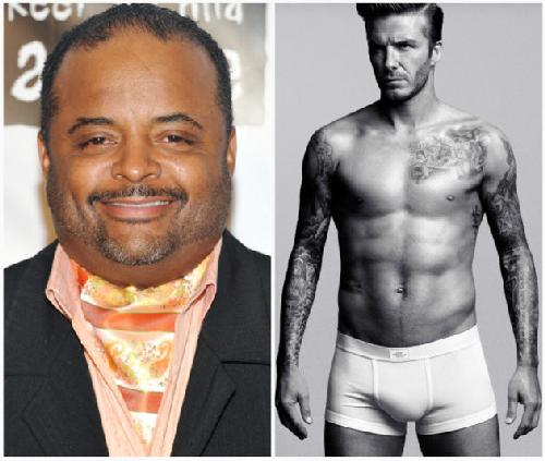 ... Martin over anti-gay remarks about David Beckham's underwear ad during ...