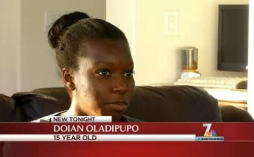 Young girl hides in parent's closet during a home invasion.