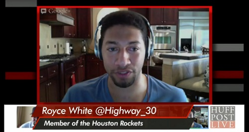 Royce White opens up about his mental illness and being in professional sports to HuffPost Live Host Marc Lamont Hill