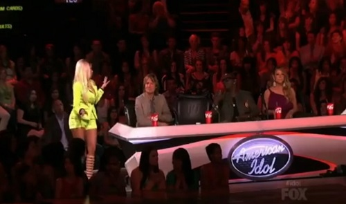 Nicki Minaj is upset and ready to leave American Idol after America votes off Curtis Finch, Jr.