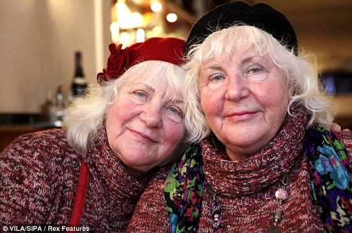 """Fokken twins give their story to documentary filmmakers and write a book called """"The Ladies of Amsterdam""""."""
