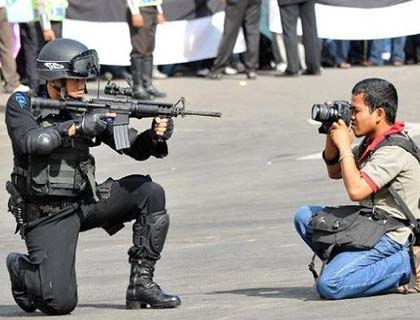 violence against reporters