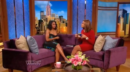 Tatyana Ali interviewed on Wendy Williams show.