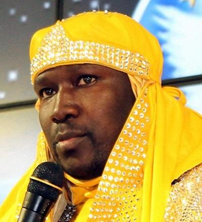 Chief High Priest Tazadaqyah of The Israelite Church of God in Jesus Christ in Harlem, New York.
