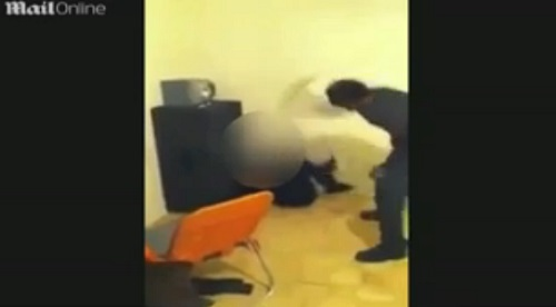 "Father beats second daughter for participating in a ""twerk"" video."