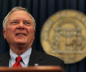 Georgia Governor Nathan Deal is not endorsing the efforts of four teenagers trying to have the high school's first integrated prom.