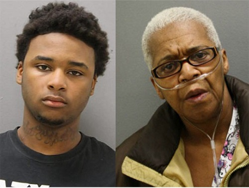 William Strickland, 19, and his grandmother Janet Strickland, 64, conspired to kill her husband and his grandfather William Strickland, 72.