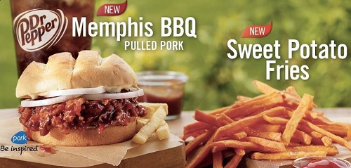 Burger King's pulled pork sandwich the Memphis BBQ and their sweet potato fries will return for the summer.