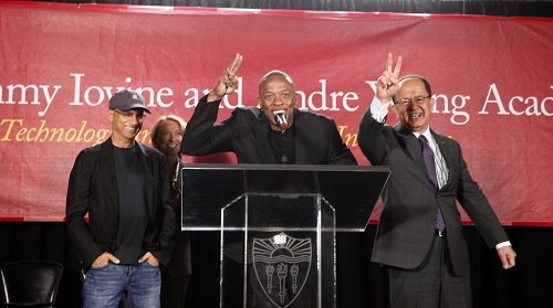 Andre Young, also known as Dr. Dre, is giving  $35 million to USC for new program.