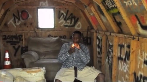 Jay Harris, aka Jay Datbull, loses full-ride scholarship to Michigan State University this fall for rap video posted on YouTube, May 14, 2013.