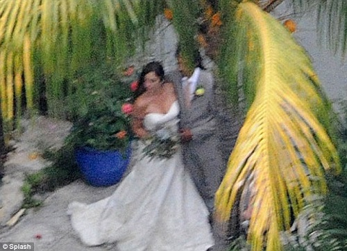 Lindsay Boehner, 35, and Dominic Lakhan, 38, wed at Sundy House in Delray Beach on Friday, May 10, 2013.
