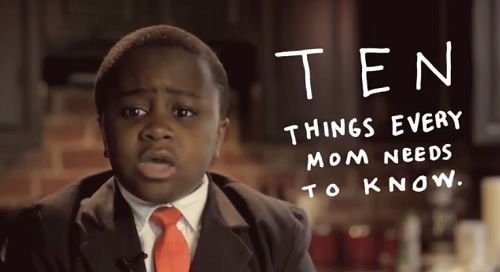 Kid President sends an Open Letter to Moms for Mother's Day.