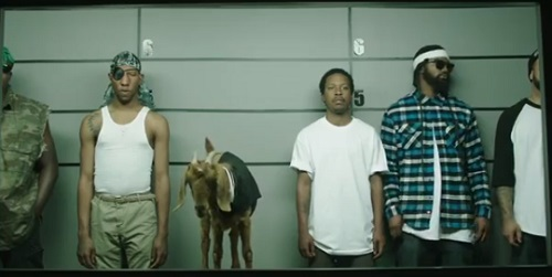 New Mountain Dew commercial features music group Odd Future and a goat named Felicia.  Racist or not racist?