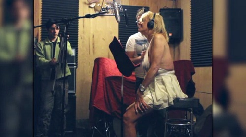 """""""Tanning Mom"""" Patricia Krentcil hits the booth with new single available on iTunes today!"""