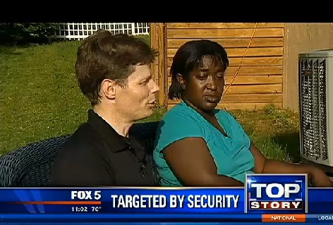 Joseph and Keana are parents of three daughters that a Walmart customer thought were being abducted.