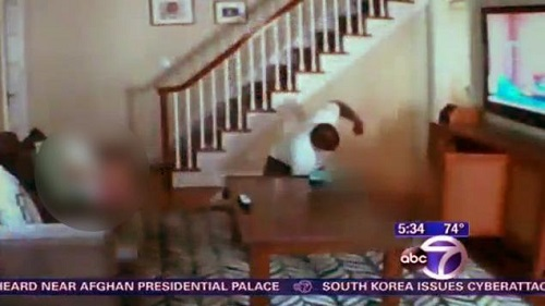 Man attacks woman in a brutal New Jersey home invasion as the woman's 3-year-old watches in fear, Friday, June 21, 2013.