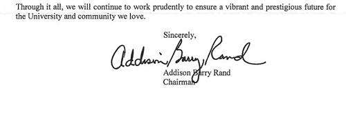 howard chair letter response 3