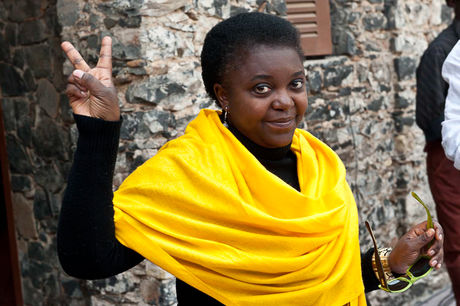 Cécile Kyenge, 48, became Italy's first black official