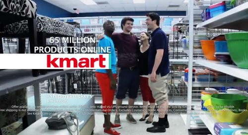 "Parody of Kmart Commercial called ""Kmart Knickers"" walks a fine racist line and is in NO WAY AFFILIATED WITH KMART."