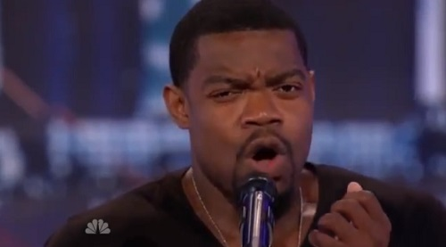 Travis Pratt of Tifton, Georgia, shocks the crowd and judges of America's Got Talent with his unusual singing voice.
