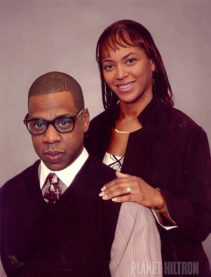 Jay-Z and Beyonce in their normal life with a normal paycheck.