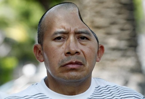 Antonio Lopez Chaj, 42, was awarded $58 million in Los Angeles Superior Court Monday, July 1, 2013, after injuries that left him with only 3/4 of his skull.