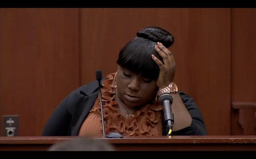 "Rachel Jeantel reveals that Trayvon Martin was ""one of few guys that didn't make fun of her."""