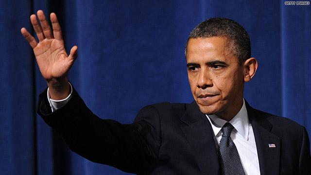 President waves