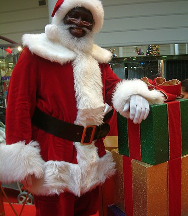 Image result for African santaclaus