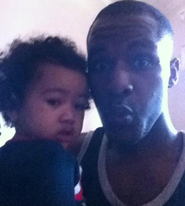 Merrick McCoy posted this picture of himself and 1-year-old Mia on Facebook before killing her