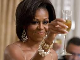 "Michelle Obama toasts guests at her ""50 and Fabulous"" Birthday bash"