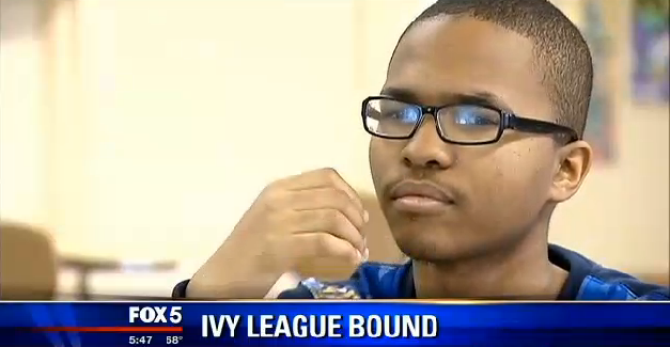 Avery Coffey is on his way to an Ivy League university!