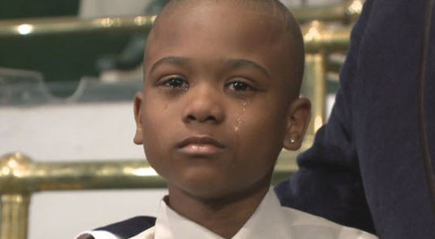 Willie Myrick, 10, was kidnapped from his Atlanta, Ga. home but let go when he wouldn't stop singing gospel music