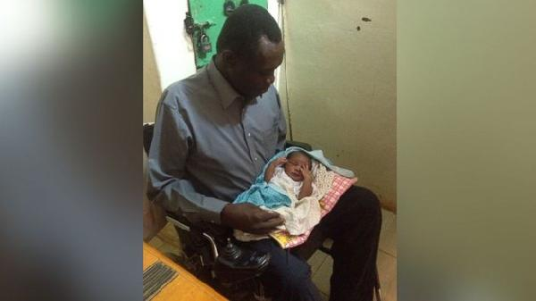 Baby meets father, mother will be hanged