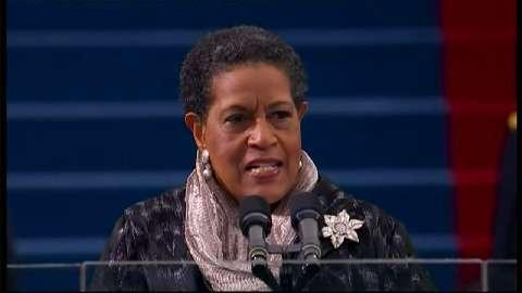 Myrlie Evers Williams, Inauguration 2013