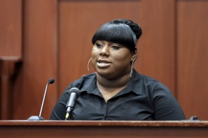 CLICK IMAGE for slideshow: Rachel Jeantel – Keeping a commitment to Trayvon Martin. (AP Photo/Orlando Sentinel
